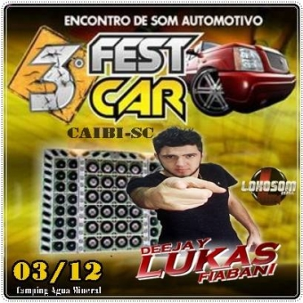 3º Fest Car De Caibi-sc