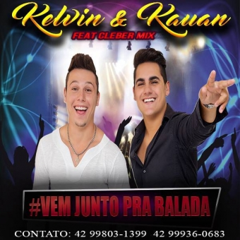 Dj Cleber Mix Ft Kelvin & Kauan - Vem Junto Pra Balada
