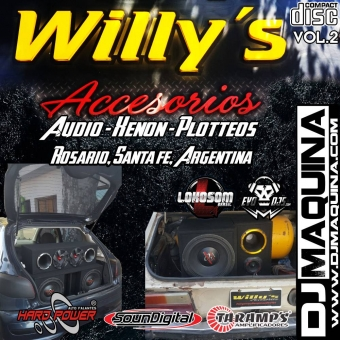 willys accesorios sound car vol2