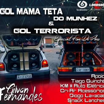Gol Mama Tetta do Munhez e Gol Terrorista - DJ Gilvan Fernandes