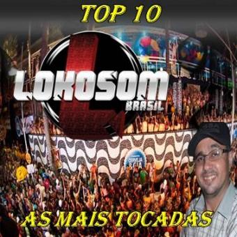 TOP 10 AS MAIS TOCADAS