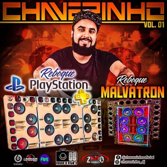 Cd Reboque Malvatron e Reboque PlayStation