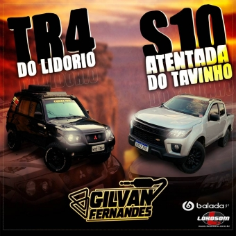 TR4 Do Lidorio e S10 Atentada Do Tavinho - DJ Gilvan Fernandes