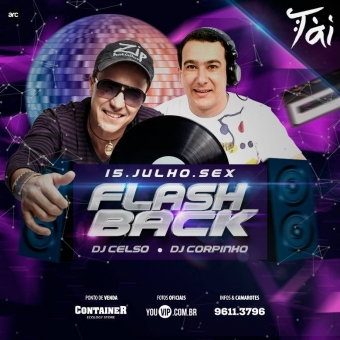 Festa de Flash Back Dj Celso ao vivo