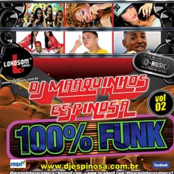 Cd 100% Funk Vol. 02 (lançamentos)