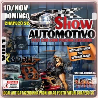 10/NOV SHOW AUTOMOTIVO CHAPECÓ SC