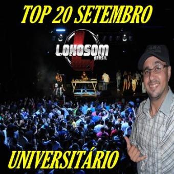 TOP 20 SETEMBRO ESPECIAL UNIVERSITÁRIO