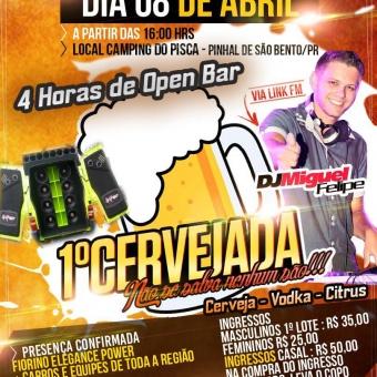 1º Cervejada não se salva nenhum são @ Pinhal de São Bento PR