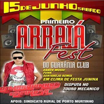 Cd Arraiá Fest Em Porto Murtinho-ms