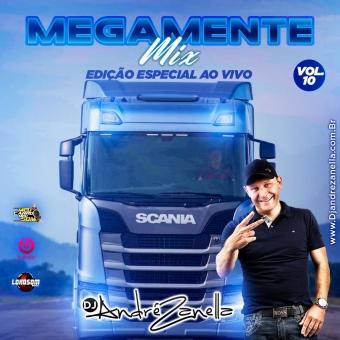 Megamente Mix Volume 10 ((Ao vivo))
