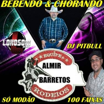 TOP 100 MODÃO ALMIR BARRETOS E DJ PITBULL
