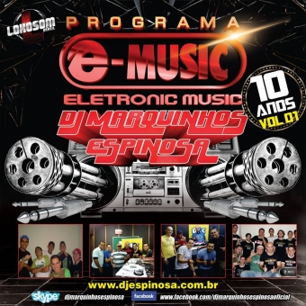 CD Programa e-music 10 anos vol 1.
