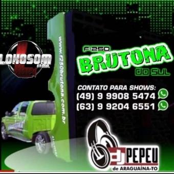 F250BRUTONA DO SUL DJ PEPEU de ARAGUARINA - TO