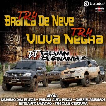 TR4 BRANCA DE NEVE E TR4 VIUVA NEGRA