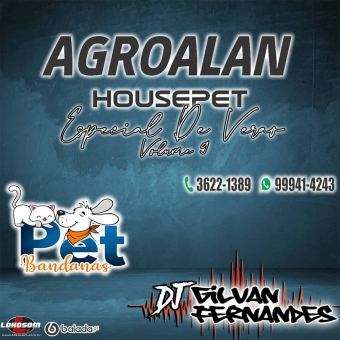 Agro Alan House Pet e Pet Bandanas - Volume 9
