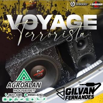 CD - Voyage Terrorista - DJ Gilvan Fernandes