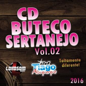 Buteco Sertanejo Vol.02 - 2016 - Dj Tiago Albuquerque
