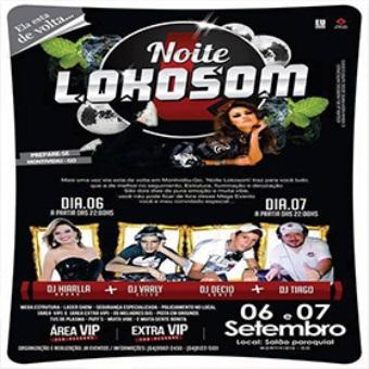 Noite Lokosom II Edição - União Do Sul Mt