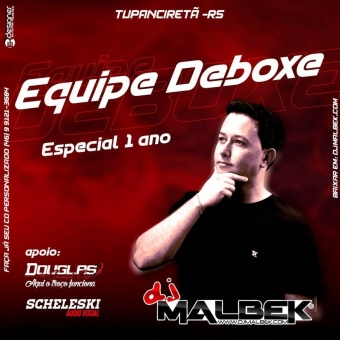 EQUIPE DEBOXE ESPECIAL 1 ANO