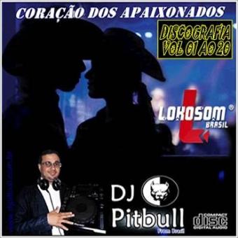 DISCOGRAFIA CORAÇÃO DOS APAIXONADOS 20 CDS