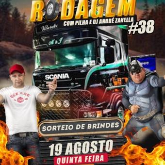 NA Rodagem Volume 38 com Pilha e Dj André Zanella ((Ao vivo))