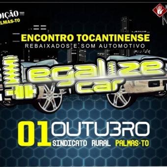 Divulgaçao 7º Encontro Legalize fest Car Palmas-TO