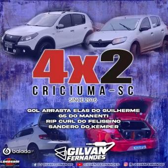 Especial Equipe 4x2 Criciuma - DJ Gilvan Fernandes