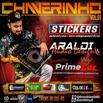 Stickers Adesivos e Envelopamentos, Araldi Áudio Design e Família Prime Car Vol.1